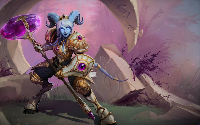Heroes of the storm nos presenta el martillo de Naaru
