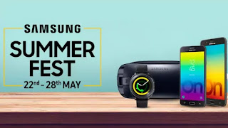 Samsung Summer Fest Starts more Deals on products and Accessories