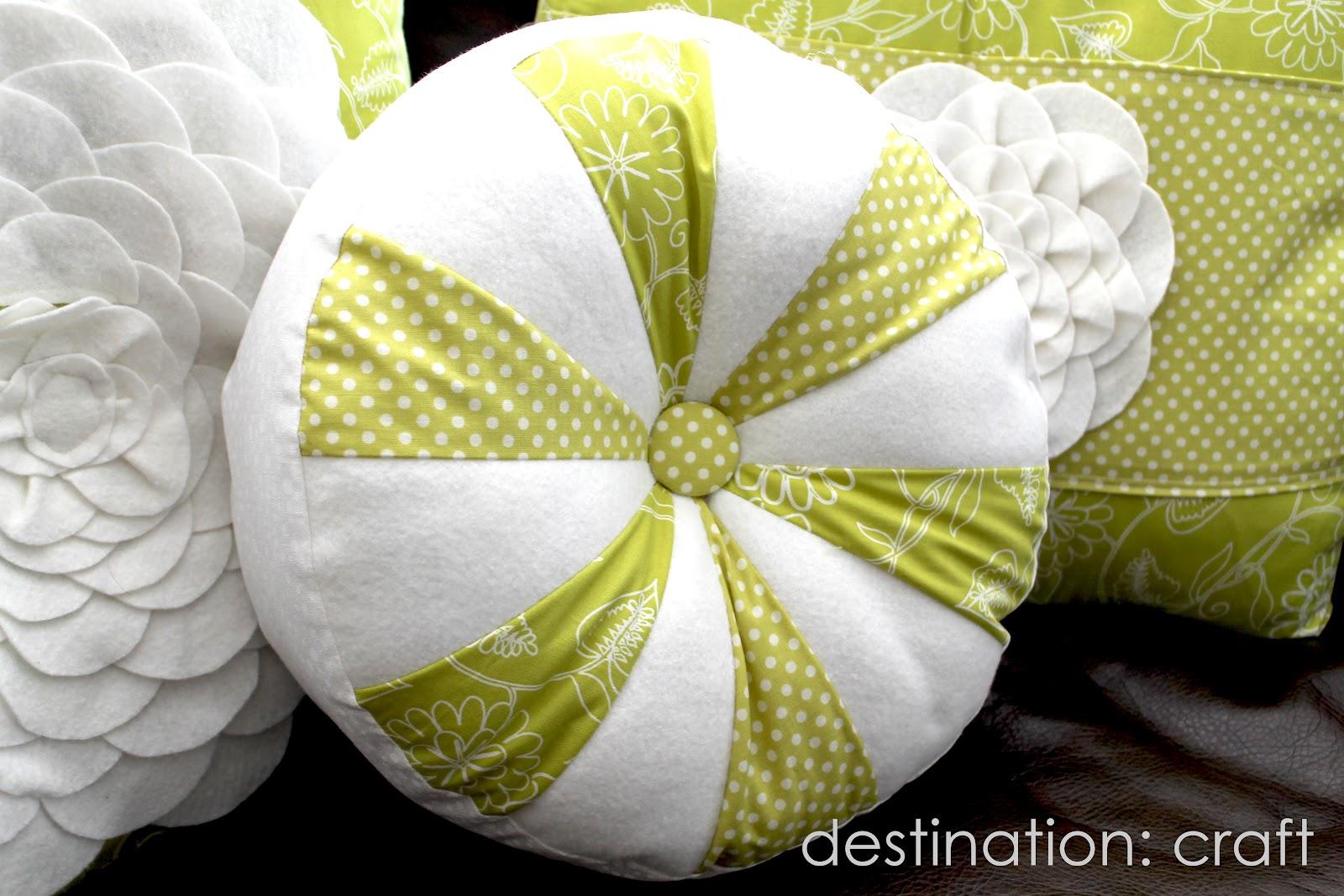 Destination Craft Sprocket Pillows