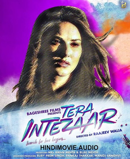 Tera Intezaar new upcoming movie first look, Poster of Sunny Leone, Arbaaz Khan download first look Poster, release date