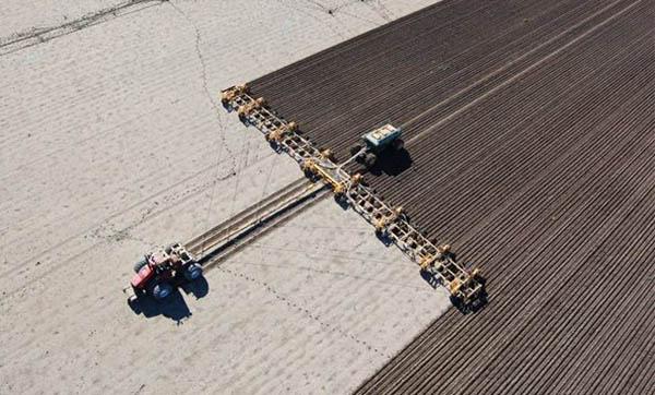 A maior plantadeira do mundo