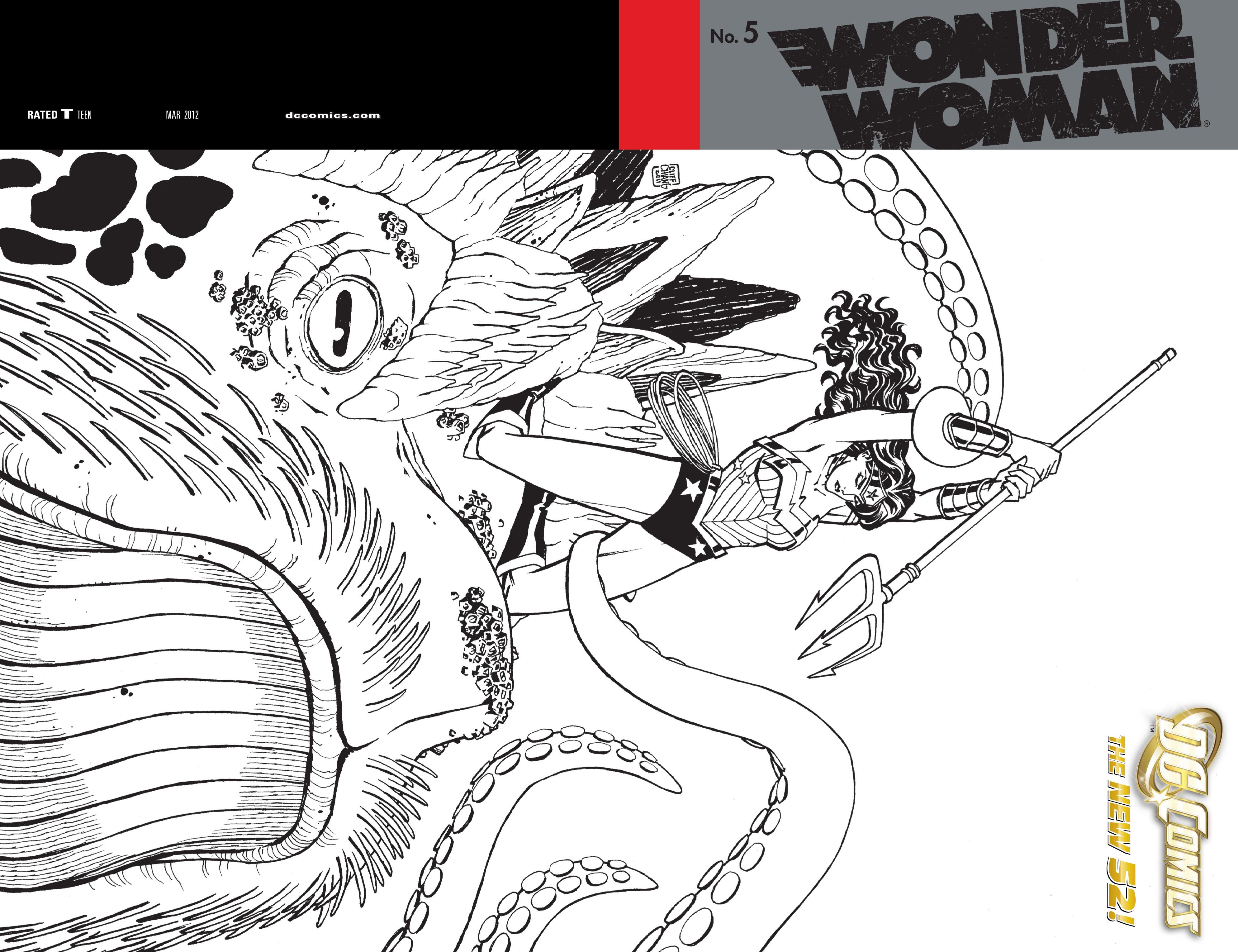 Read online Wonder Woman (2011) comic -  Issue #5 - 2