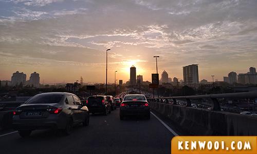 subang traffic jam