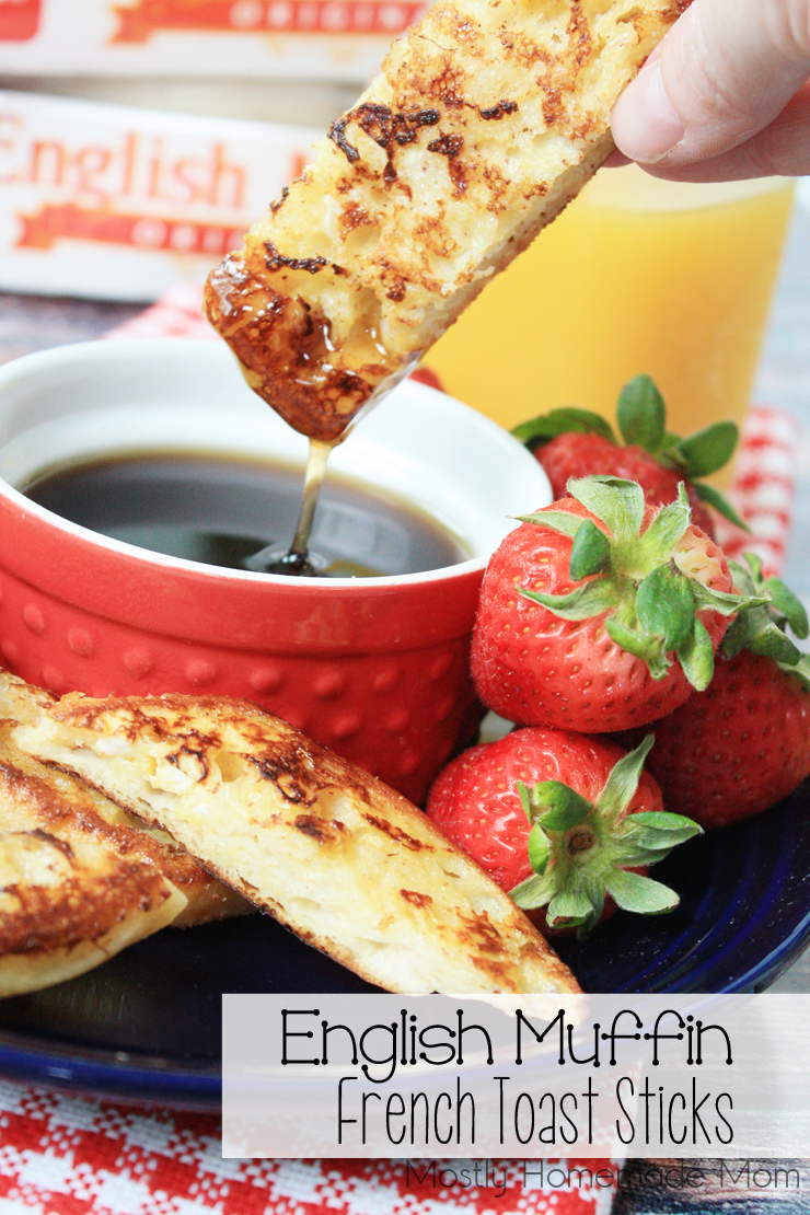 English Muffin French Toast Sticks