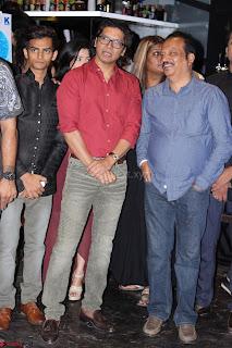 Gracy Singh and Bappi Lahiri   Blue Mountain Music Launch IMG 0737.JPG