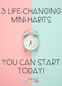 productivity tips, how to start good habits, organization blogs, time management