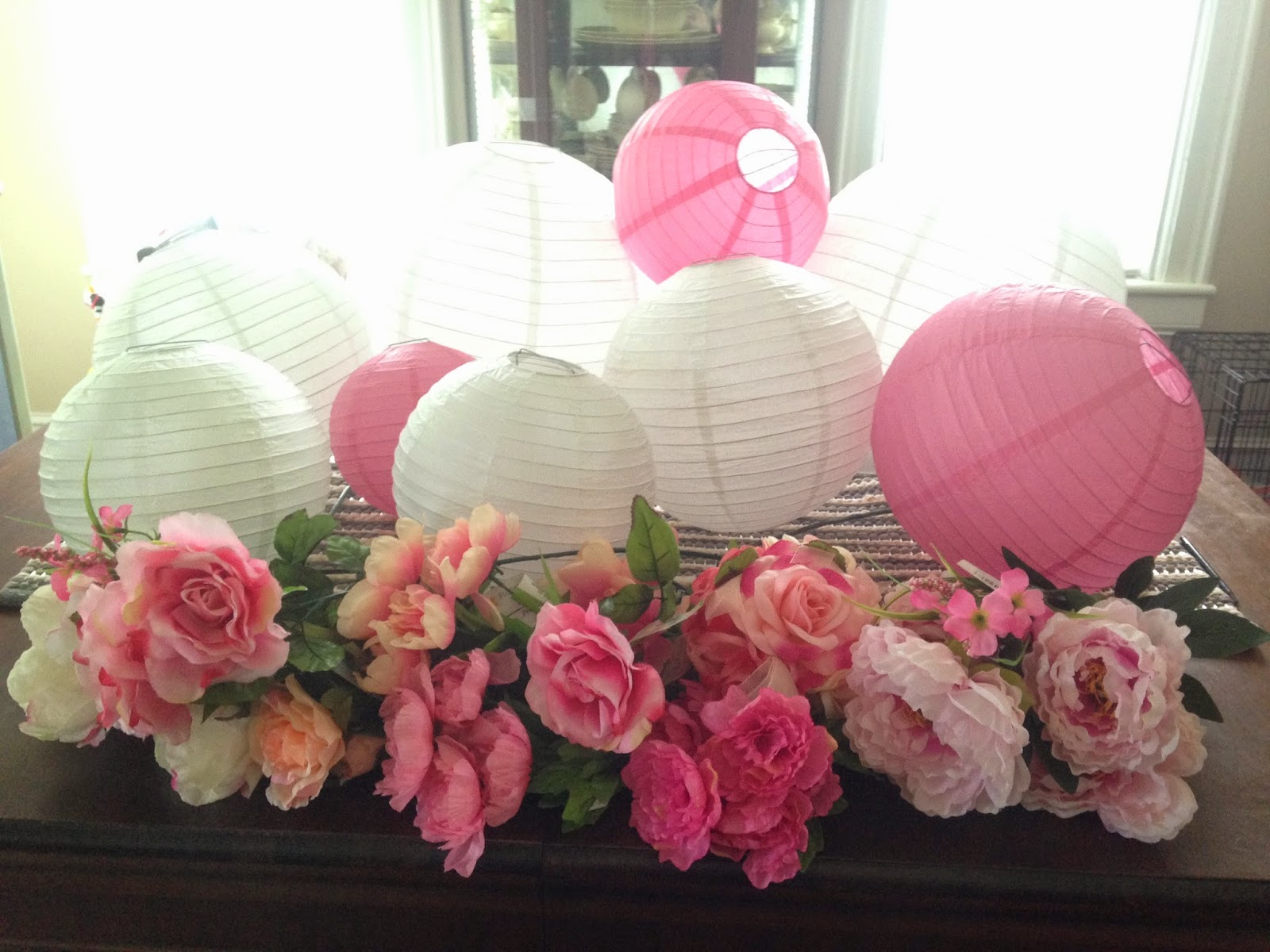 Crystal Rose Diy Flower Paper Lanterns