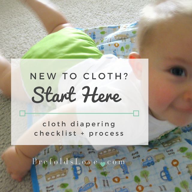 If you're new to cloth diapers, use this checklist in the diapering process to get started.