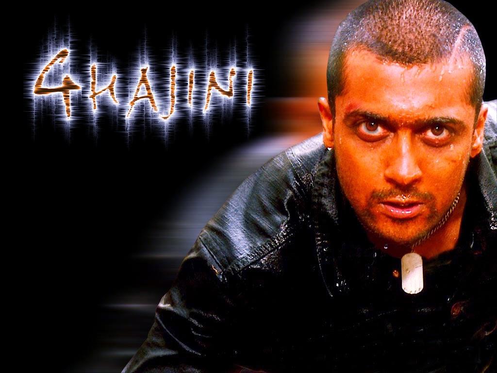 Suriya Movie Stills Photos Wallpapers: Ghajini Tamil Movie Firstlook Posters Wallpapers In HD