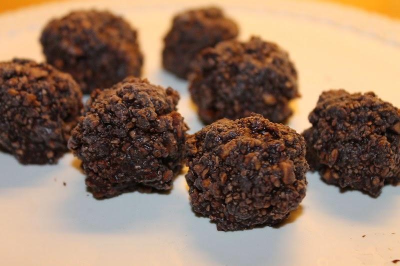 Bacche di goji e cacao