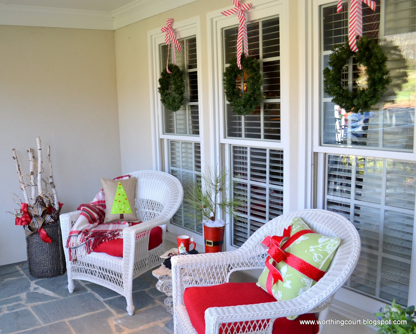 Outside Window Decoration Ideas For Christmas Flisol Home