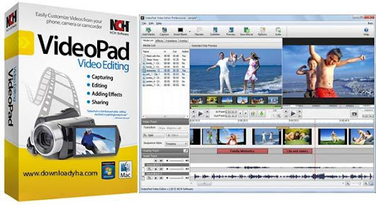 Download Free NCH VideoPad Video Editor 4.58 Cracked | Latest Version 2018