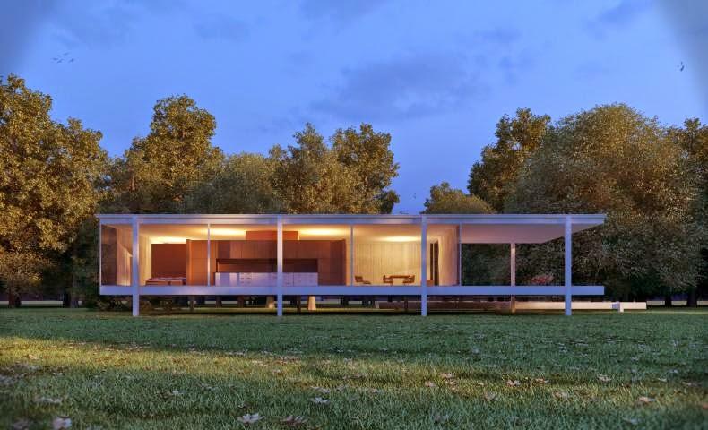 Kenzo x Design 360: 范思沃斯住宅Farnsworth house by 密斯·凡德羅Ludwig Mies van der Rohe@Arch