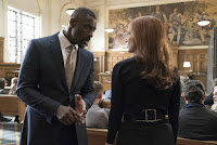 Molly's Game Jessica Chastain and Idris Elba Image 1