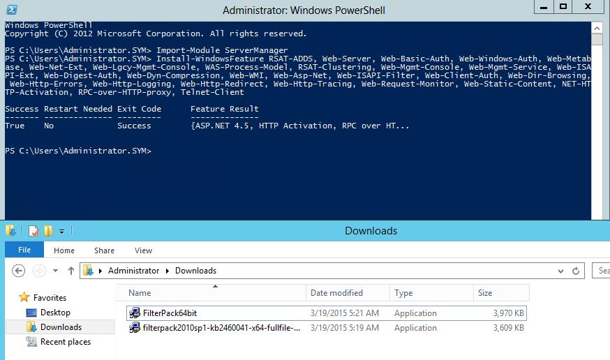 Установка Exchange 2010 + SP3 на Windows 2012 (Не R2!) | ИТ