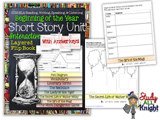 Short Story Flip Book is Included in this awesome back to school bundle