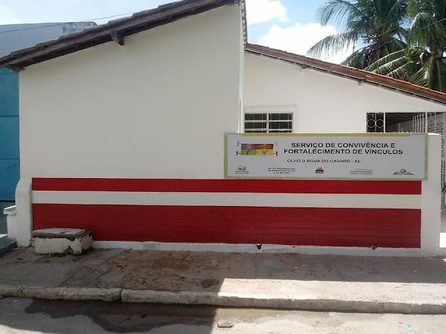 Prefeitura de Olho d' Água do Casado, abre nesta quarta-feira, 20,  a nova sede do SCFV