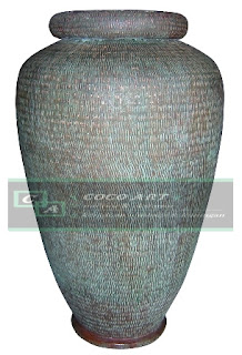 kerajinan guci tembaga antik