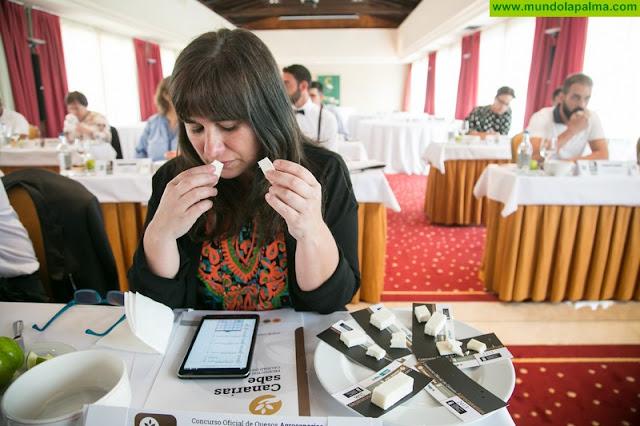 145 producciones de todas las Islas compiten en Agrocanarias por el galardón al Mejor Queso de Canarias