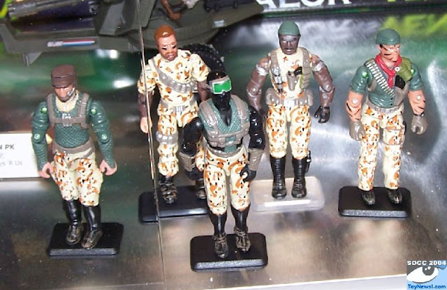 2004 Desert Patrol, Stalker, Dusty, Snake Eyes, Ambush, Tunnel Rat, Gung Ho