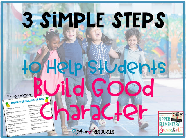 how to build a good character
