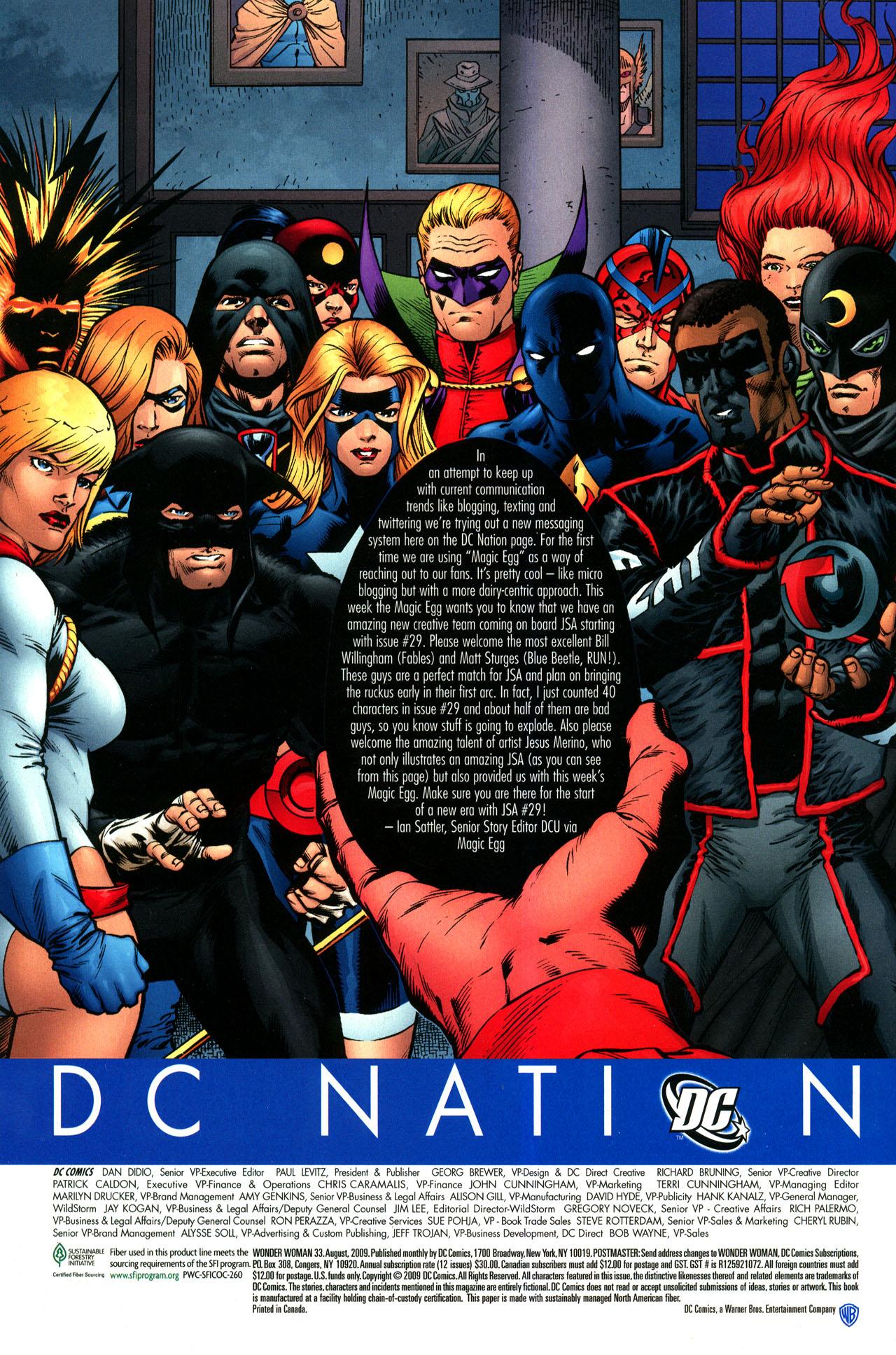 Read online Wonder Woman (2006) comic -  Issue #33 - 24