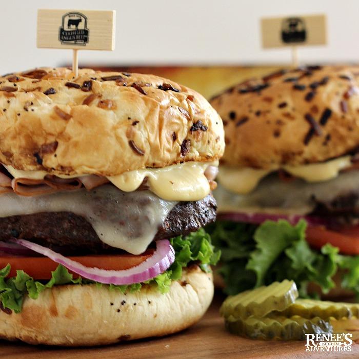 Cordon Bleu Burgers
