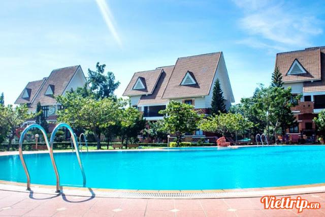 Hồ bơi - Lotus resort Vũng Tàu
