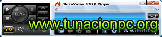 BlazeVideo HDTV Player Professional Multilenguaje Imagen