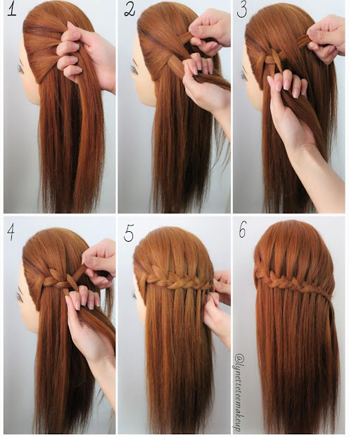 hairstyles with easy step-step