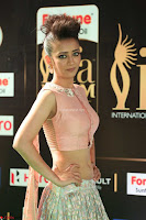 Akshara Haasan in Peachy Crop Top Choli Skirt at IIFA Utsavam Awards 015.JPG