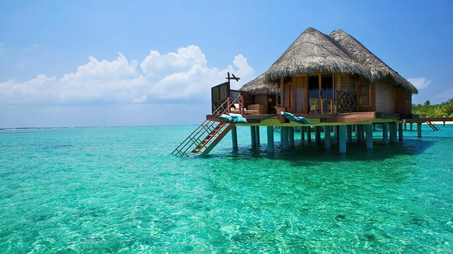 Bali, Island, Hut, Ocean, Sea, Scenery, 4K, #6.936