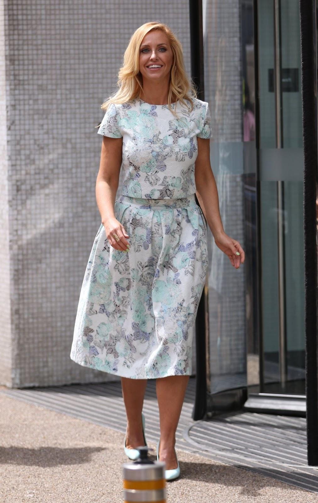 HD Photos of Josie Gibson at London ITV Studios