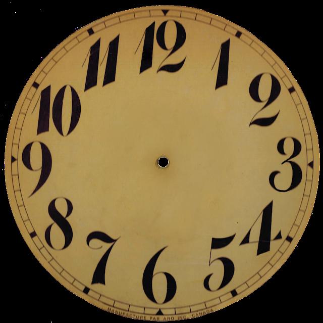 Farewell 2013 Hello 2014 Vintage Clock Face Printable