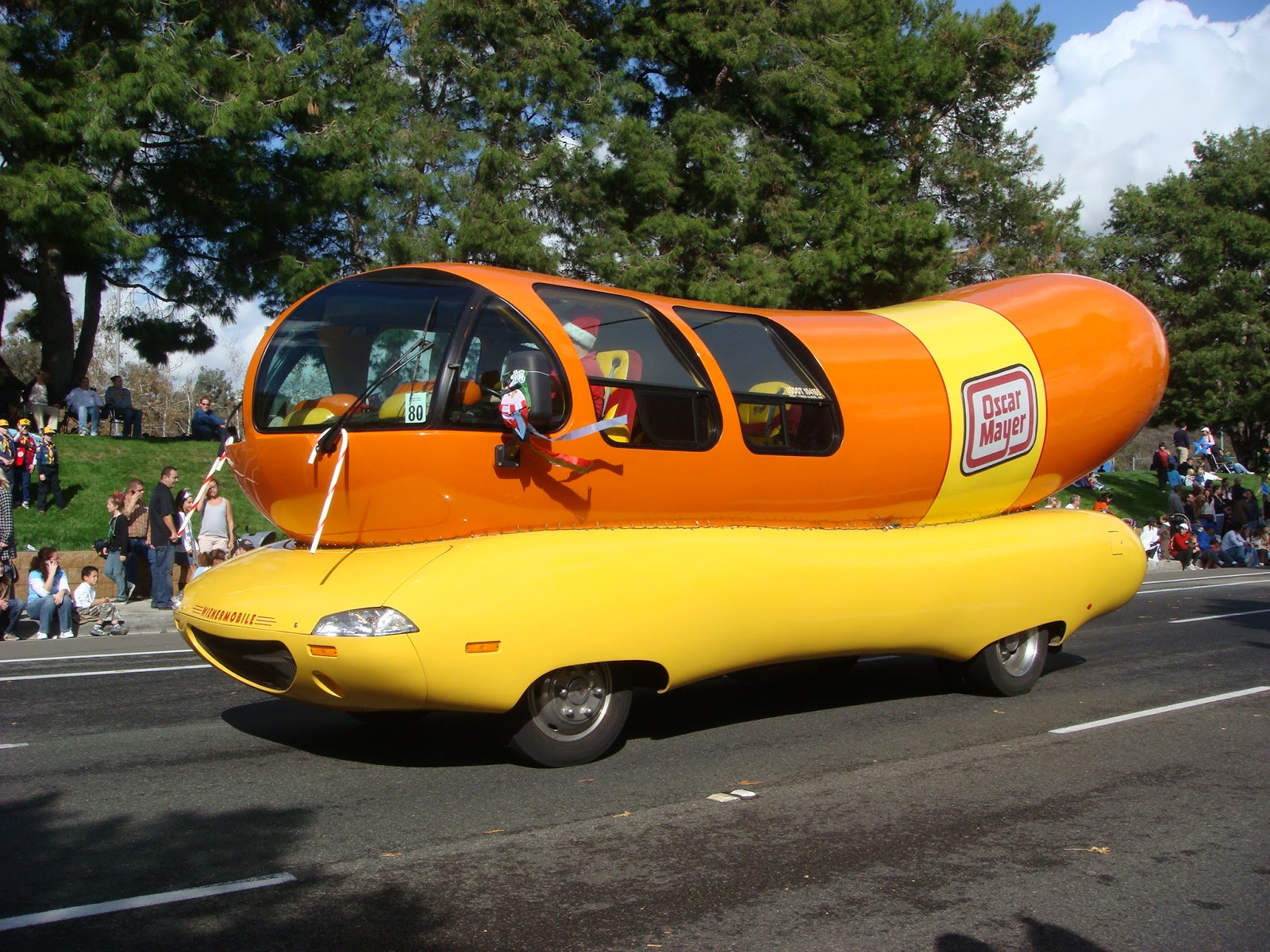 colfax avenue oscar meyer weinermobile coming to colfax. Black Bedroom Furniture Sets. Home Design Ideas