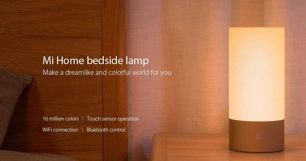 Xiaomi Mijia Bedside Lamp A 46 Aberto At 233 De Madrugada