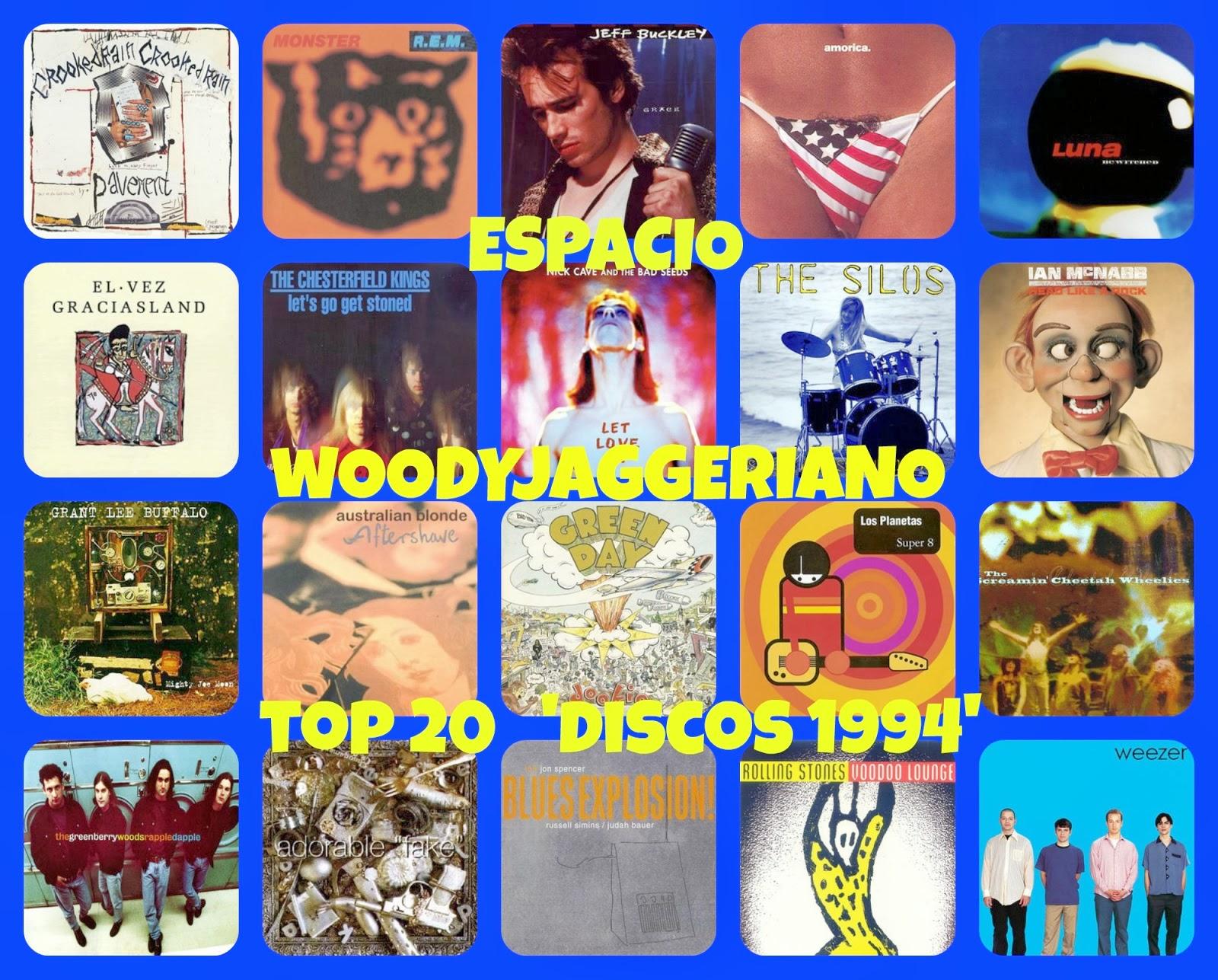 Los mejores discos de 1994