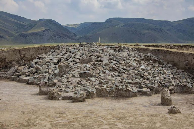 2,800-year-old 'royal gold jewellery' stash found in the mountains of eastern Kazakhstan