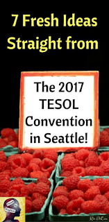 Blog With Friends, multi-blogger projects based on a theme | Seven Fresh Ideas Straight from the 2017 TESOL Convention in Seattle by Kia of Think In English | Featured on www.BakingInATornado.com