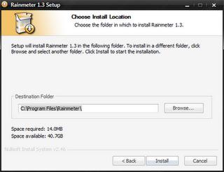 Upgrad your desktop by rainmeter ~ Tricky windows
