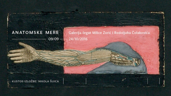 """Izložba """"Anatomske mere"""" u galeriji Legata Čolaković"""