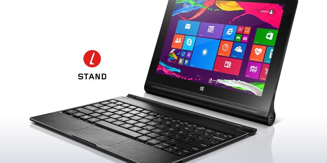 Harga Lenovo Yoga Tablet 2 Terbaru Februari 2017, Hadir Dengan Dua Plihan OS Android Dan OS Windows