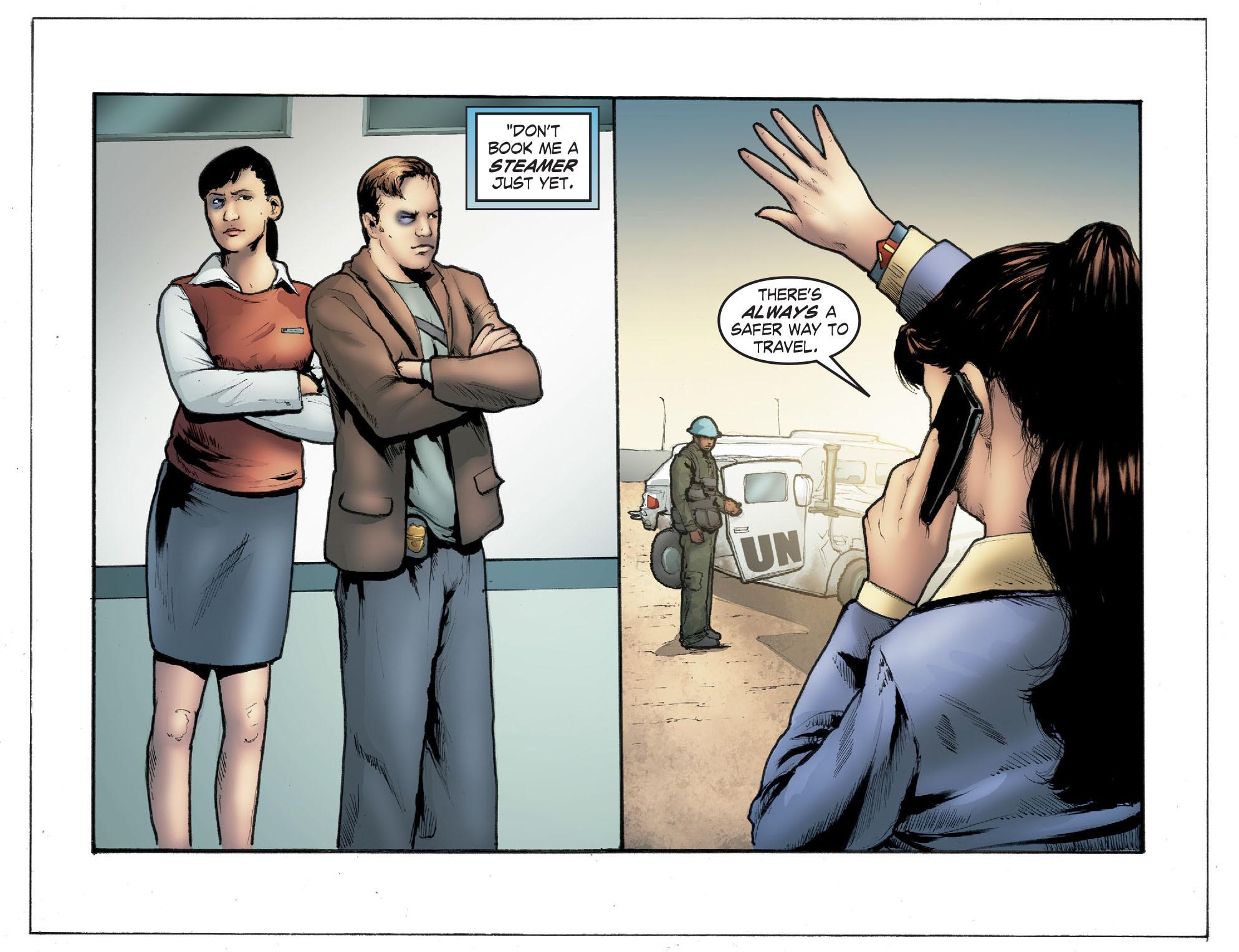Read online Smallville: Season 11 comic -  Issue #41 - 12