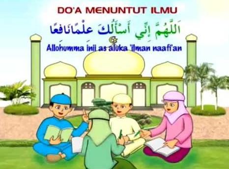 Kumpulan Doa Dalam Menuntut Ilmu Yang Bermanfaat