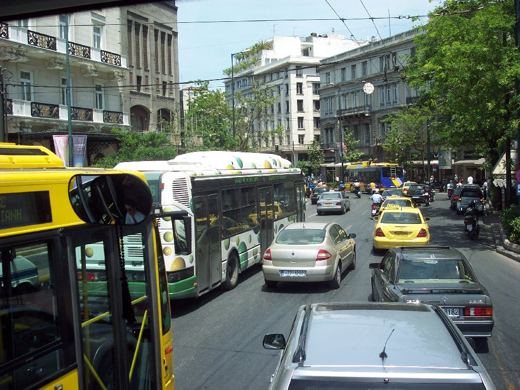 You Drive Defensively When You >> My Greek World: 26 Simple Rules of Survival on the Greek Roads