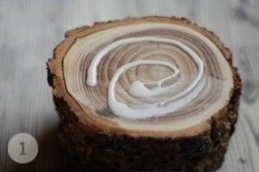 Unique Table of Wood