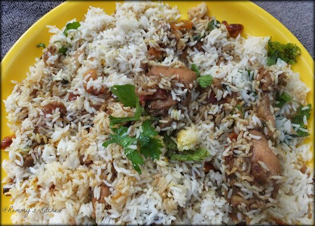 Thalassery chicken dum  biriyani