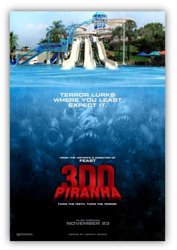 Piranha 3DD Trailer, Leonard Part 6, Jaws 3D Talk