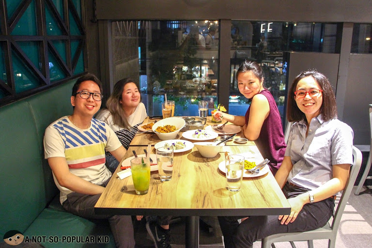 Renz Cheng, Gail Chua, Nica Ang and Donna in Sup? Chow