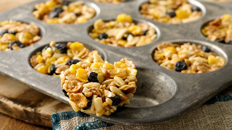 Honey Oat Clusters Cereal Cookies